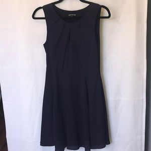 Express purple A-line dress